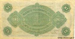 1 Peso GUATEMALA  1900 PS.121b TTB+