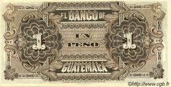 1 Peso GUATEMALA  1915 PS.141b SPL