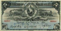 5 Pesos GUATEMALA  1905 PS.143b TTB
