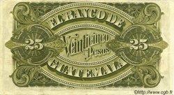 25 Pesos GUATEMALA  1907 PS.146a pr.SUP