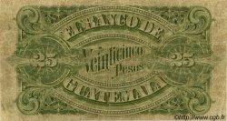 25 Pesos GUATEMALA  1920 PS.146b TB