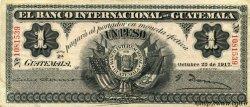 1 Peso GUATEMALA  1917 PS.153a TTB