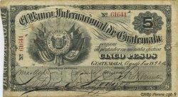 5 Pesos GUATEMALA  1892 PS.154b TB+