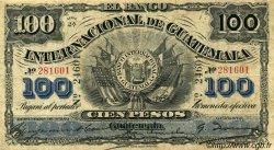 100 Pesos GUATEMALA  1925 PS.160b TB+