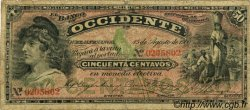 50 Centavos GUATEMALA  1900 PS.172 B+