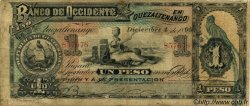 1 Peso GUATEMALA  1899 PS.173b B+