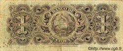 1 Peso GUATEMALA  1900 PS.175a TB à TTB