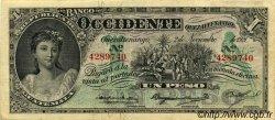 1 Peso GUATEMALA  1921 PS.175b TTB à SUP