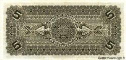 5 Pesos GUATEMALA  1914 PS.176b SPL