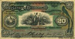 20 Pesos GUATEMALA  1914 PS.179 TTB