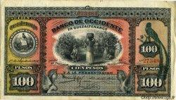 100 Pesos GUATEMALA  1916 PS.182b TB à TTB