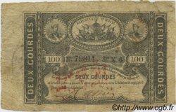 2 Gourdes HAÏTI  1827 P.042 B