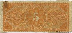 5 Piastres HAÏTI  1875 P.072 TB