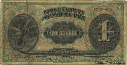 1 Gourde HAÏTI  1919 P.150 B+