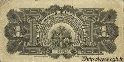 1 Gourde HAÏTI  1925 P.160 TB