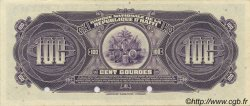100 Gourdes HAÏTI  1951 P.184s pr.NEUF