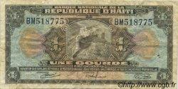 1 Gourde HAÏTI  1964 P.185 TB