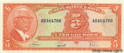5 Gourdes HAÏTI  1967 P.202a pr.NEUF