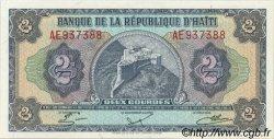 2 Gourdes HAÏTI  1985 P.240 pr.NEUF