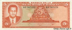 5 Gourdes HAÏTI  1985 P.241a SUP
