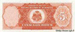 5 Gourdes HAÏTI  1985 P.241a pr.NEUF