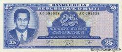 25 Gourdes HAÏTI  1985 P.243a SPL