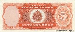 5 Gourdes HAÏTI  1987 P.246a SUP