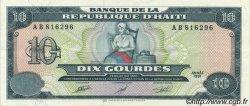 10 Gourdes HAÏTI  1991 P.256a SUP+