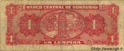 1 Lempira HONDURAS  1951 P.045b B