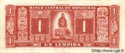 1 Lempira HONDURAS  1961 P.054Aa TTB+