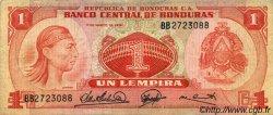 1 Lempira HONDURAS  1974 P.058 TB