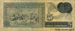 5 Lempiras HONDURAS  1977 P.059b pr.TB
