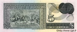 5 Lempiras HONDURAS  1978 P.059b NEUF