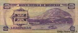 2 Lempiras HONDURAS  1976 P.061 B+