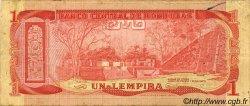 1 Lempira HONDURAS  1978 P.062 TB