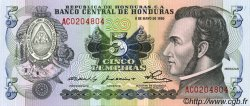5 Lempiras HONDURAS  1980 P.063a NEUF