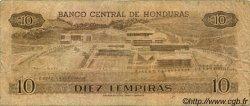 10 Lempiras HONDURAS  1986 P.064b B+
