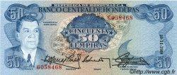 50 Lempiras HONDURAS  1989 P.066b NEUF