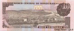 10 Lempiras HONDURAS  1989 P.070a NEUF