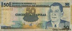 50 Lempiras HONDURAS  1994 P.074a TB