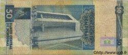 50 Lempiras HONDURAS  1994 P.074c TB