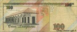 100 Lempiras HONDURAS  1994 P.077a TB+