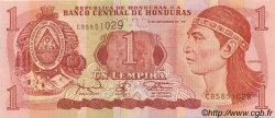 1 Lempira HONDURAS  1997 P.079A SPL