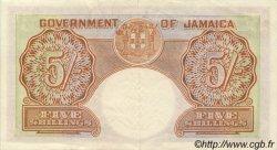 5 Shillings JAMAÏQUE  1958 P.37b SUP
