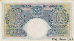 10 Shillings JAMAÏQUE  1940 P.38b SUP