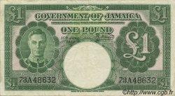 1 Pound JAMAÏQUE  1950 P.41b TTB