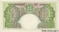 1 Pound JAMAÏQUE  1958 P.41b SUP+