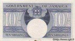 10 Shillings JAMAÏQUE  1960 P.46 SUP+