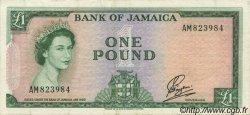 1 Pound JAMAÏQUE  1961 P.51 TTB+