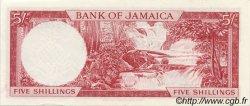 5 Shillings JAMAÏQUE  1964 P.51Ac SPL